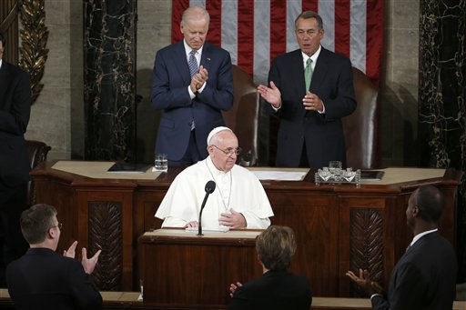 Francis before Congress