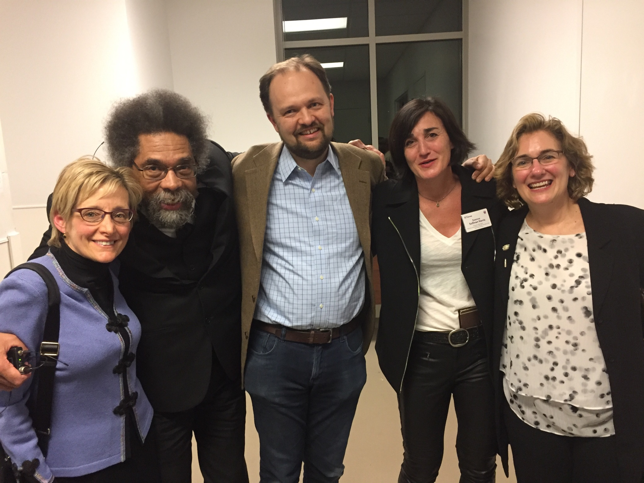 mirror of justice cornel west ross douthat seanne harris the program manager of the murphy institute out whom and i mean this very literally the program